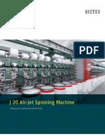 J 20 Air-jet Spinning Machine Brochure 2386-V1 en 34515