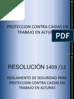 Resolucion 1409 Julio 2012