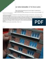 Modélisme ferroviaire à l'échelle HO. Confection de balcons pour nos Immeubles à l'échelle HO. (3.)  par Hervé Leclère