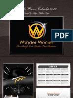 Wonder Women 2013 Calendar