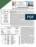 St. Michael's Feb. 24, 2013 Bulletin