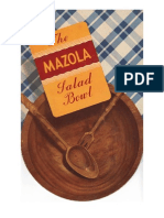 The Mazola Salad Bowl.  Undated, ca. 1930's recipe booklet.