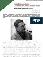 O Existencialismo de Jean Paul Sartre