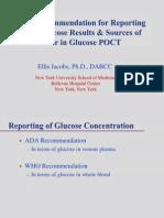 Ifcc Glucose Poct