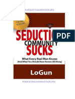 Seduction Community Sucks E-Book