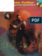 Jazz Guitar - Improvisation - BOOK CD