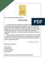 (2) A bolsa amarela interpretação