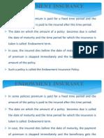 Endowment Insurance