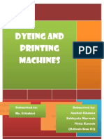 Dyeing and Printing