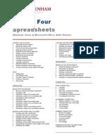 Ecdl v4 Module 4 Office 2007 Outline