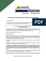 Actualidad de Las Negociaciones Comerciales en Colombia