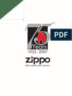 ZIPPO Catalog (1932-2007)