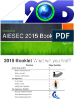 AIESEC 2015_Information Booklet