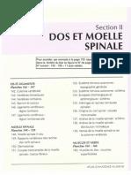 Atlas d'Anatomie - Dos Et Moelle