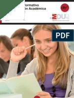 Cuaderno Informativo de Orientación Académica y Profesional 2013
