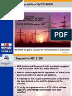 Interoperability With IEC 61850
