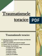 TRAUMATISME TORACICE
