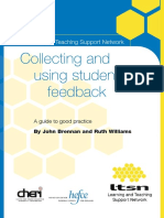 Collecting and Using Student Feedback