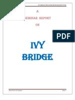 Seminar Report on IVY BRIDGE