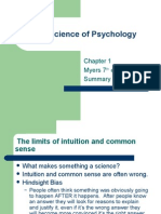 1 the Science of Psychology Chpt 1