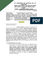 Caso Penal. Exp. 1698-2009 Difamacion y Calumnia
