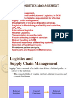 Logistics Management Unit2 Complete
