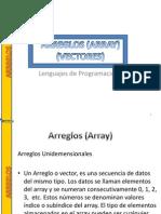 Arreglos Array