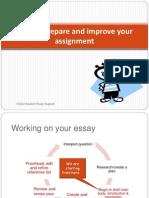 10 USE Prepare Improve Assignment