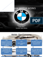 Bmw marketing strategy