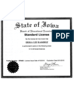 ramirez teaching certificate