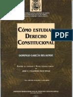 Como Estudiar Derecho Constitucional Domingo Garcia Belaunde