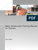 Basic Construction Training Manual for Trainers