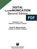 Digital Communication - Lee & Messerschmitt