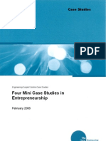 4 Mini Case Studies