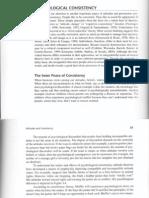 Psychological Consistency(1)