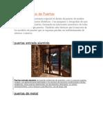 Fotos y Diseños de Puertas 1