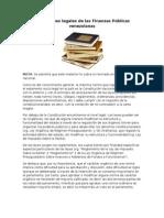 Definiciones legales de las Finanzas Públicas venezolanas