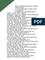 33 Degrees in Free Masonry