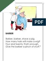Barber Barber Shave a Pig