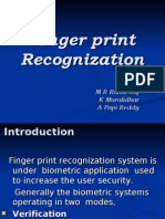 Finger Print Recognition (Rahul Raj)