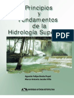 Principios y Fundamentos de la Hidrología Superficial