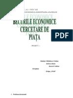 Proiect 2 Cercetare de Piata