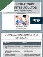 Pp Interrogatorio de Pacientes Adultos
