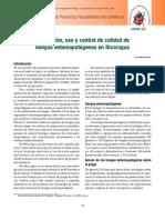 Producción, uso y control de calidad de HONGOS ENTOMOPATOGENOS