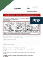 Estudo Dirigido LINGUA PORTUGUESA 6 ANO Recuperacao Paralela(2)