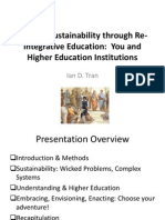Leading Sustainability through Re-Integrative Education