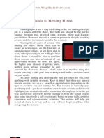 Quick Guide on Getting Hired