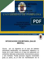 Exposicion Del Caso Clinico Intoxicacion Con Metanol
