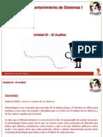 Unidad3 El Auditor