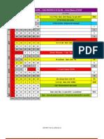 Calendário 2012 - 1º Semestre - Poli/USP